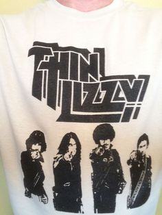 Thin Lizzy Phil Lynott Shirt S M L XL Choose Size/Color All Variations #ThinLizzyPhilLynott #tshirtbasics