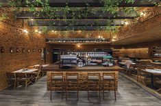 50 friends restaurant by Cherem Arquitectos, Mexico City