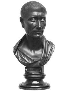 Гай Юлий Цезарь (скульптурная работа первого века нашей эры) Ritratto di Gaio… Buddha, Statue, History, Historia, Sculptures, Sculpture