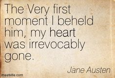 The Very first moment I beheld him, my <3 was irrevocably gone. - Love and Freindship by Jane Austen #janeausten #fanart (Love and Freindship is a juvenile story by Jane Austen, dated 1790)