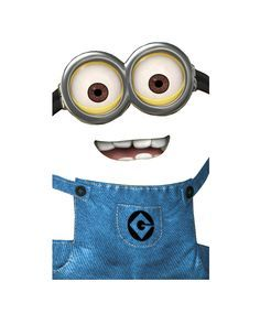 dispicable me goggles print | Despicable Me - Minion Cutout for Yellow Party Bags