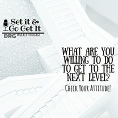 """Late Lunch Cast Loves! What are you willing to do or give up to get to the next level? Everything can't go to your next level. Sometimes the thing we've grown accustomed to carrying around is the very thing that needs to be loosed. Usually it's our attitudes or perspectives or even our personalities that are holding us back! Check out today's podcast to find out if your attitude is holding you back!   . Leave a comment below the podcast and let me know if you've identified the """"thing(s) that…"""