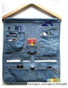 Un buen uso para unos jeans viejos :D