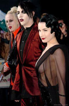 6873de064ebd Dita  amp  Marilyn Manson i love them  lt 3 beautiful couple  lt 3