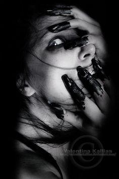 Haunted #women #photography #dark