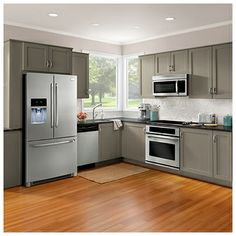 Smudge Proof Stainless Steel Kitchen Appliances