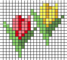 tulpen strijkkralen