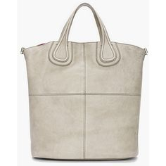 GIVENCHY Grey Nightingale Tote ($1,935) ❤ liked on Polyvore