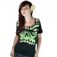 Zombie skull top :) (a favourite gothic punk clothes repin of VIP Fashion Australia )