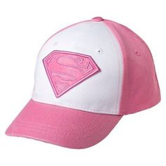 Hats 15630  Toddler Girls Supergirl Baseball Hat - Pink -  BUY IT NOW ONLY 30f5d71c5665