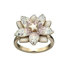 Swarovski Crystal Louella Flower Ring