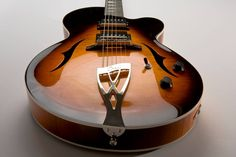Case Guitars Phil Robson's J3 archtop