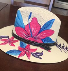 Painted Clothes, Folk Art, Drawings, Hats, Diy, Painting, Accessories, Beauty, Design