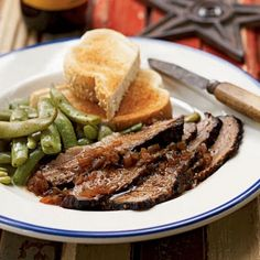 Heather's World - Easy Recipes for All: Texas-Style Smoked Brisket