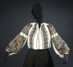 in Clothing, , Cultural & Ethnic Clothing, Europe Traditional Art, Traditional Outfits, Ukrainian Art, Folk Costume, Peasant Blouse, High Waisted Skirt, How To Wear, Clothes, Vintage