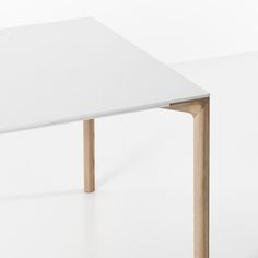 BOIACCA WOOD Rectangular table, design by LucidiPevere