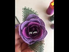 iğneoyası gül yapım aşamaları - YouTube Beaded Flowers, Diy Flowers, Beads And Wire, Irish Crochet, Tatting, Stitch, Sewing, Jewelry, Youtube