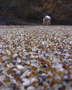 Sea glass every where. @Nicole Neimroozi this is your dream!!@Sherri Lippoldt