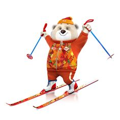 Design of Sochi 2014 Winter Olympic Games mascots for Bosco company.