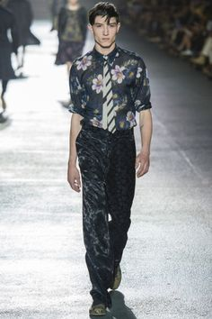 Dries Van Noten Spring/Summer 2014 Menswear