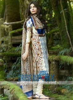 Sana Safinaz Embroidered Lawn 2014 Pakistani Designer Lawn Fabric  Shop the Latest Sana Safinaz Embroidered Lawn 2014