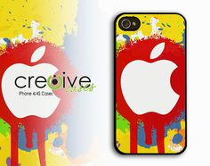 iphone 4 case  Apple Color Rays  Case for iPhone by Cre8iveCases, $12.99