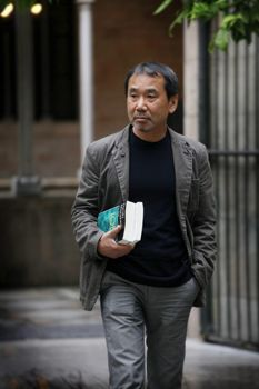 """When I write novels, I have to go down into a very deep, dark, and lonely place,"" Murakami told me the first time we met, in the summer of 1999, describing his creative process with an image he has now repeated in conversations many times since. ""And then I have to come back, back to the surface. It's very dangerous. And you have to be strong, physically and mentally strong, in order to do that every day."""