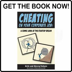 Check out the book from the creators of #entrepreneurfail comics  CHEATING ON YOUR CORPORATE JOB: A COMIC LOOK AT THE STARTUP DREAM A Comics, Starting A Business, Entrepreneurship, Cheating, The Book, Fails, The Creator, Humor, Learning
