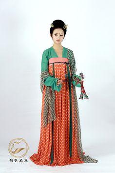 dressesofchina:  breast-height ruqun 齐胸襦裙 by 锦瑟衣庄