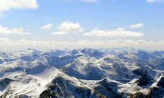 View from Ben Nevis summit towards Glen Coe. - Photos - Our Alba Scotland Information, Scottish Mountains, Glencoe Scotland, West Highland Way, Glen Coe, Ben Nevis, Fort William, Scottish Highlands, Beautiful Sky