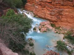What you see on a Havasu Falls Hike
