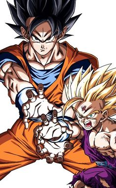 Dbs Gohan, Dragon Ball Z, Goku And Gohan, Dbz Characters, Fantasy Warrior, Illustrations, Pictures To Draw, Sword Art Online, Roman Reings