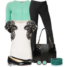 Quilted and Studded Contest 2 by amybwebb on Polyvore