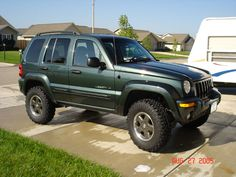 lifted jeep liberty |I'll take the 05-06 Liberty 2.8L diesel CRD. Now if only I could fit  in this small of a Jeep.