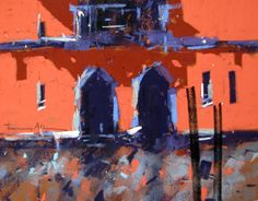 """TONY ALLAIN - 'The Colors of Venice'...""""I take an everyday scene and through a subtle approach and through focusing on light, colour and tone, I try to give the motif an elevated atmosphere."""""""