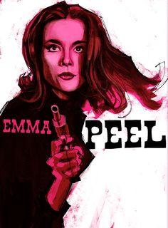 emma-peel by Nicolas Gremaud Emma Peel, Alter Ego, Illustrators, Illustration Art, Illustrator, Illustrations