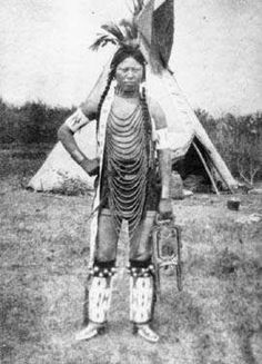 Cree Indians circa 1880s photographed with weapons. Description from native-american-historic-photographs.blogspot.com. I searched for this on bing.com/images