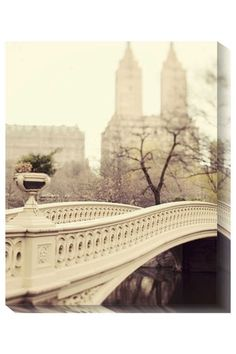 Wall Art: A Walk in the Park - Giclee on Canvas <3