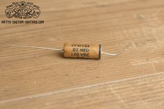 Vintage Repro Capacitor mfd uf 22 nF for Fender Telecaster Stratocaster and other electric Guitar, simply the best Capacitors for restauration and upgrade your Guitar Sound Fender Telecaster, Guitar Fender, Fendi, Les Paul Jr, Custom Guitars, Vintage Guitars, Guitars