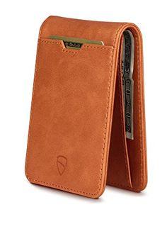 Vaultskin MANHATTAN Slim Bifold Wallet with RFID Protecti...