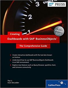 Creating Dashboards with SAP BusinessObjects: The Comprehensive Guide to Xcelsius: Ray Li, Evan DeLodder: 9781592294107