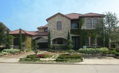 <ul><li>Featuring a stone and stucco exterior, this stunning luxury hill country house plan has unusual features such as a…