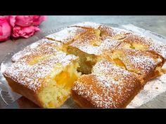 Κέικ σε 5 λεπτά, πολύ νόστιμο με διαφορετικά φρούτα. Εύκολη γρήγορη συνταγή CAKE # 45 - YouTube Greek Sweets, Quick Cake, Biscotti Recipe, Cake Factory, Different Fruits, Pan Dulce, Chocolate Frosting, Sweet Cakes, Amazing Cakes