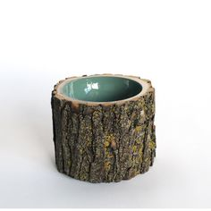 Made of a real reclaimed log with a colorful gloss interior, this Log Bowl is just the vessel you need for eating heaping piles of sustenance before you go back to work chopping timbers or rescuing fair maidens from wolves. Or, for the non-woodsmen among us, it also serves as an eye-catching home accent that will send your imagination straight to the forest. Covered in real bark for a raw, textured effect, this Loyal Loot design will add a cool woodsy vibe to your space.