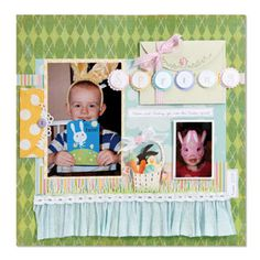Sizzix Die Cutting Project Inspiration and Die Cutting Equipment Tips: Spring Layout
