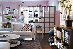 Ikea 2019 Living Room IKEA and its products, which turned into a phenomenon, give ideas about new designs in the 2019 catalog. As always, IKEA offers a lot of design ideas . Interior Ikea, Interior Shutters, Apartment Interior, Studio Apartment, Ikea Living Room, Living Room Furniture, Ikea Furniture, Living Rooms, Living Spaces