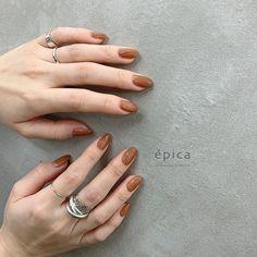 different shaped nails Nude Nails, Acrylic Nails, Hair And Nails, My Nails, Clear Nails, Minimalist Nails, Perfect Nails, Trendy Nails, Natural Nails