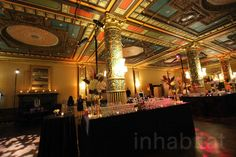 Have your wedding or event at this opulent ballroom where all proceeds go towards helping the homeless!