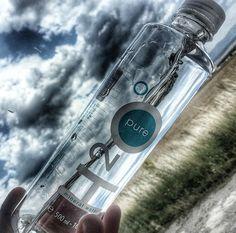 Fanphoto found on Instagram by @ivelina0709 Bottle Top, Voss Bottle, Water Bottle Design, Mineral Water, Love Design, Healthy Living, Purpose, Design Inspiration, Packaging