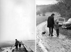 Paul McCartney with his daughter Heather / photos by Linda McCartney